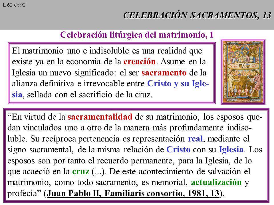 CELEBRACIÓN SACRAMENTOS, 13
