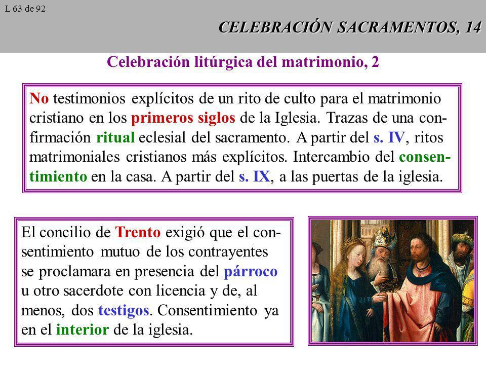 CELEBRACIÓN SACRAMENTOS, 14