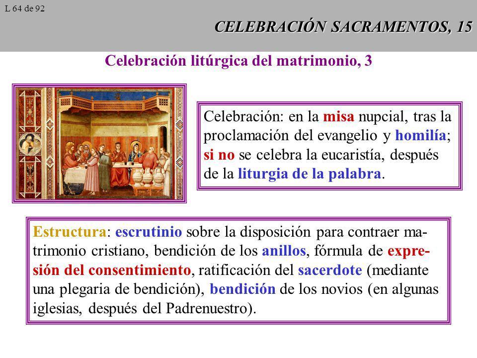CELEBRACIÓN SACRAMENTOS, 15
