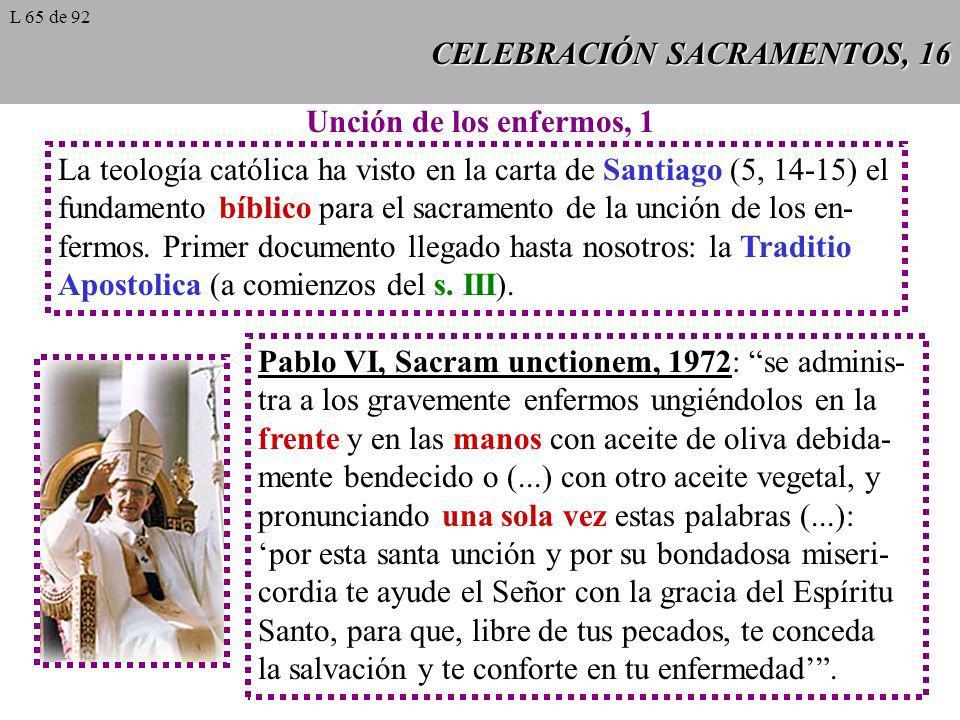 CELEBRACIÓN SACRAMENTOS, 16