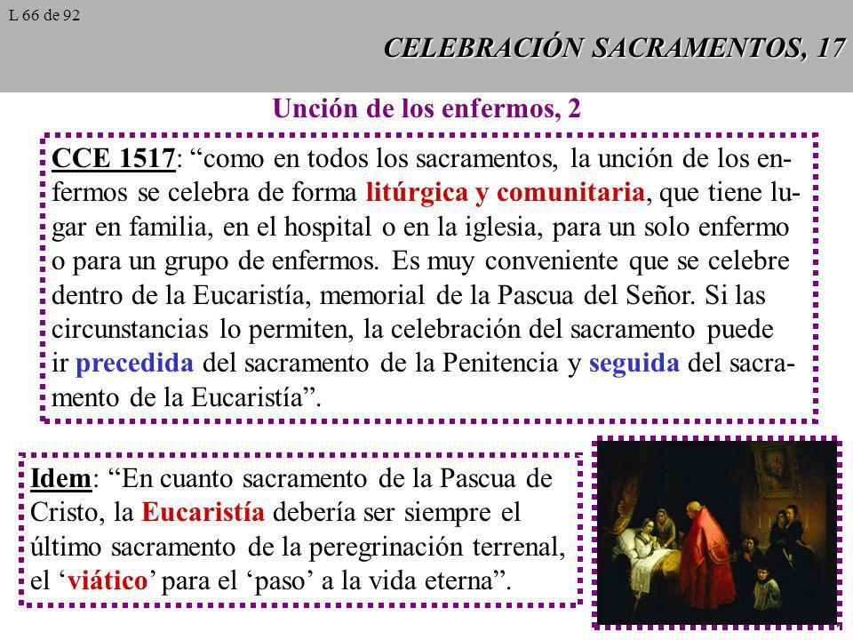 CELEBRACIÓN SACRAMENTOS, 17