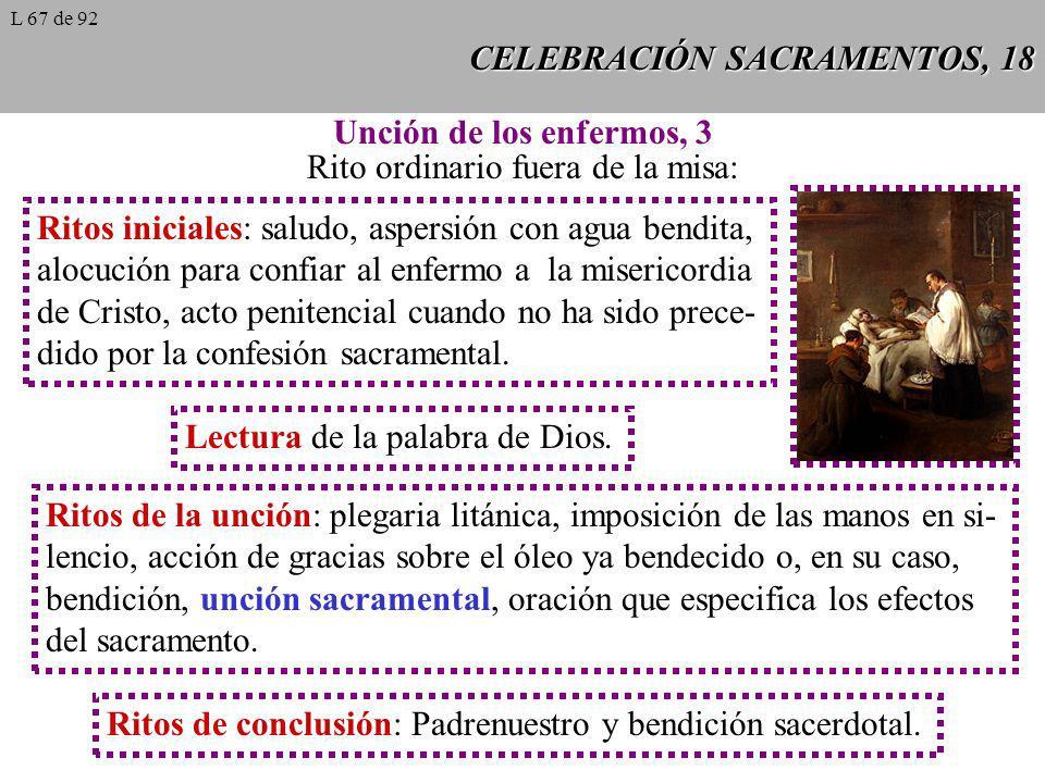 CELEBRACIÓN SACRAMENTOS, 18