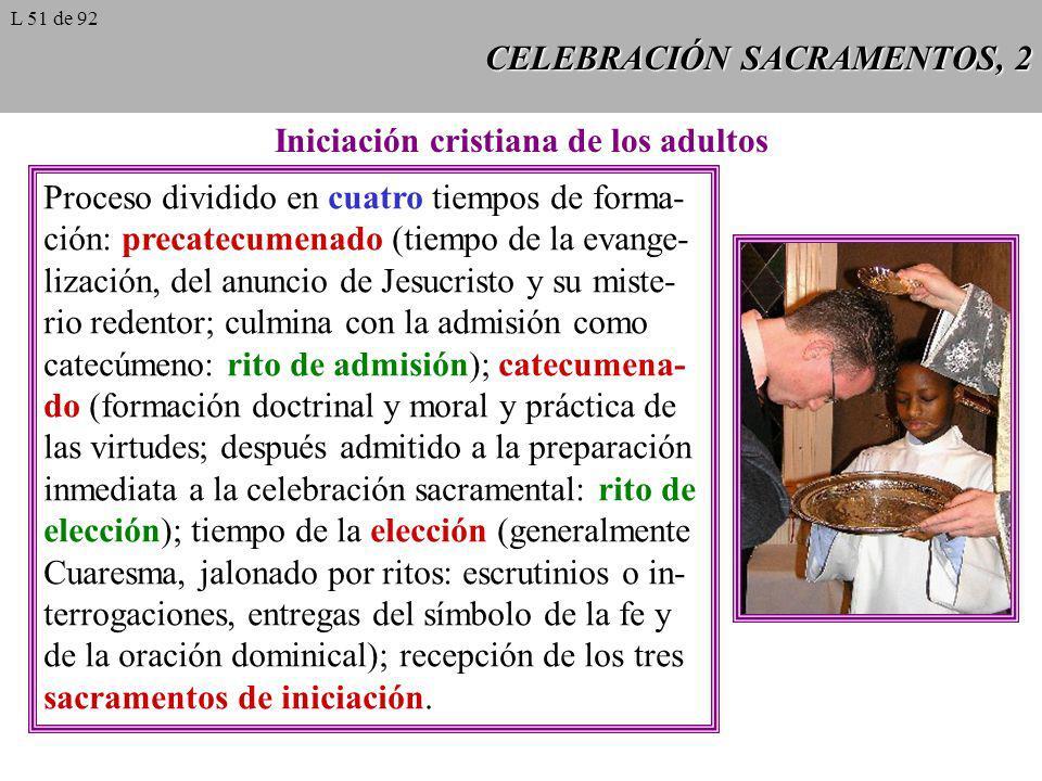 CELEBRACIÓN SACRAMENTOS, 2
