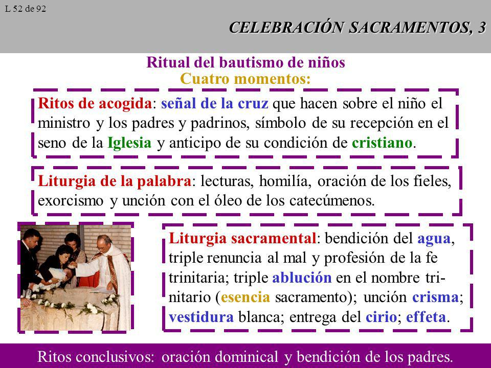 CELEBRACIÓN SACRAMENTOS, 3