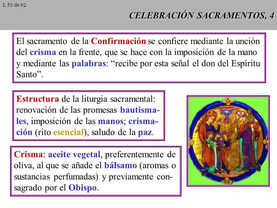 CELEBRACIÓN SACRAMENTOS, 4