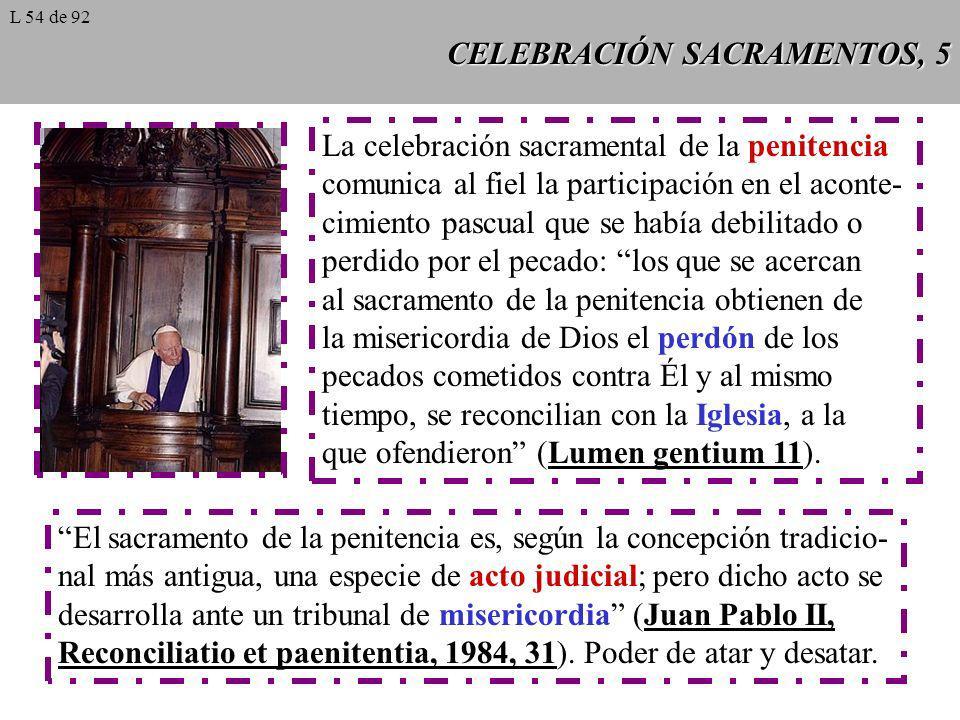 CELEBRACIÓN SACRAMENTOS, 5