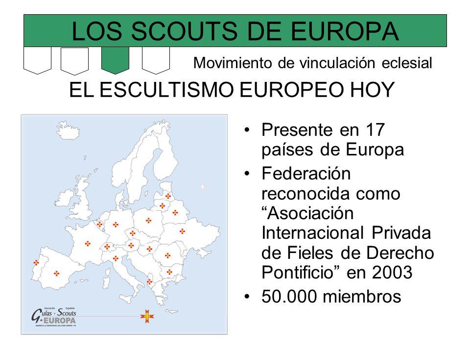 LOS SCOUTS DE EUROPA EL ESCULTISMO EUROPEO HOY