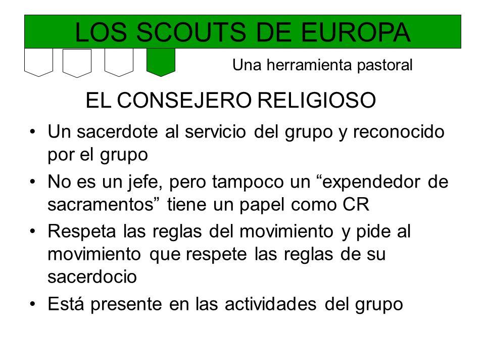 LOS SCOUTS DE EUROPA EL CONSEJERO RELIGIOSO