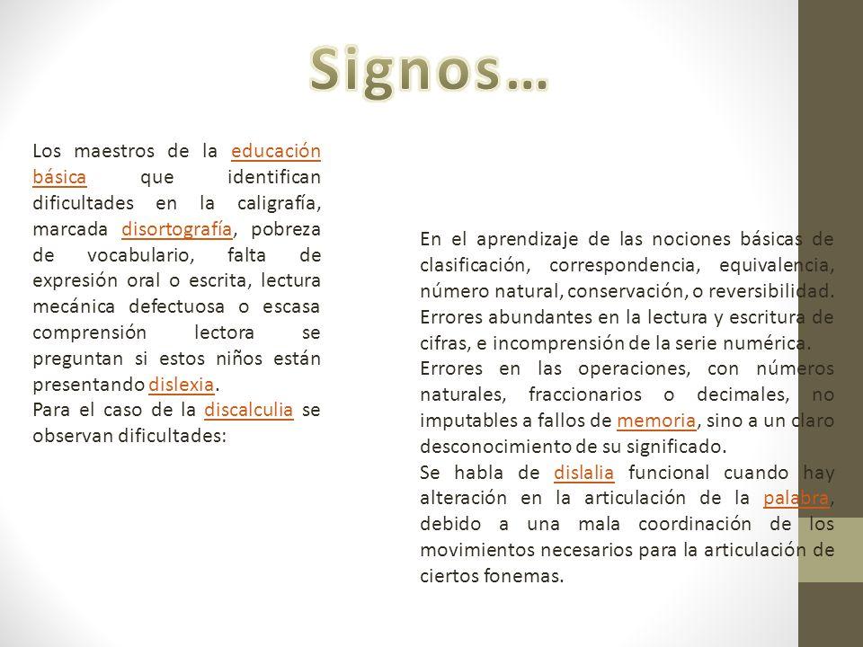Signos…
