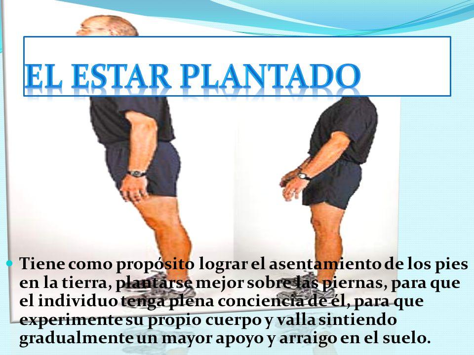 EL ESTAR PLANTADO