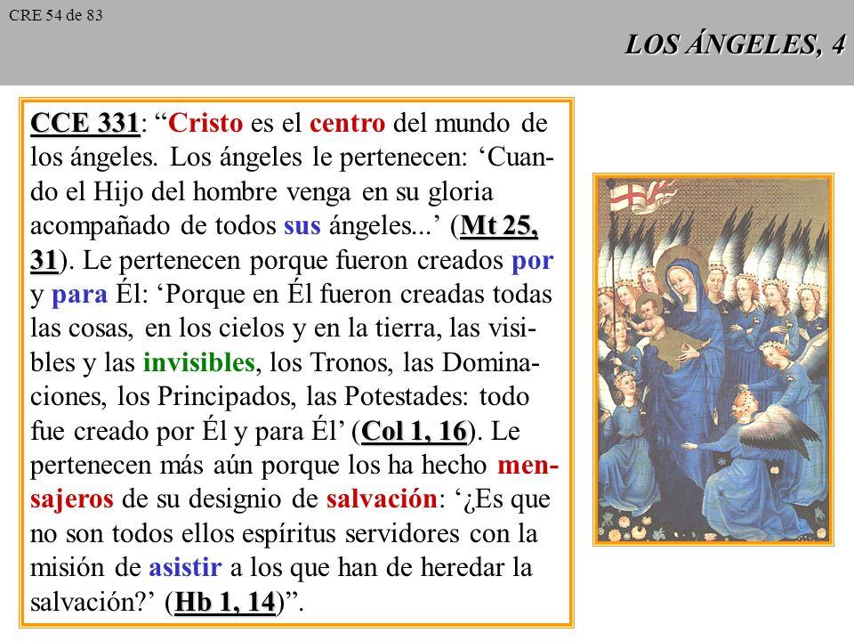 CCE 331: Cristo es el centro del mundo de