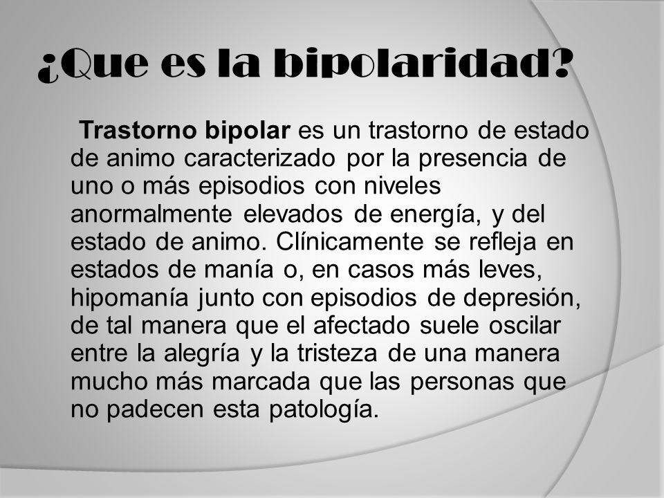 ¿Que es la bipolaridad