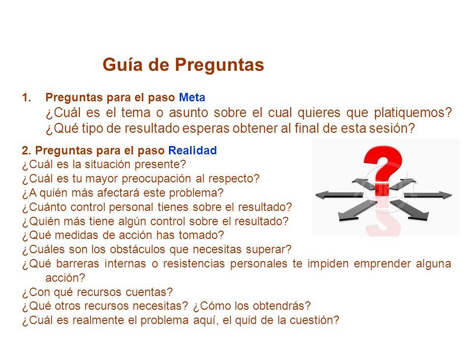 Guía de Preguntas Preguntas para el paso Meta.