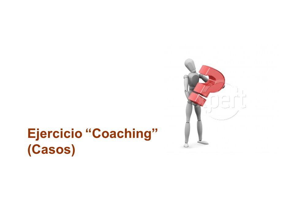 Ejercicio Coaching (Casos)