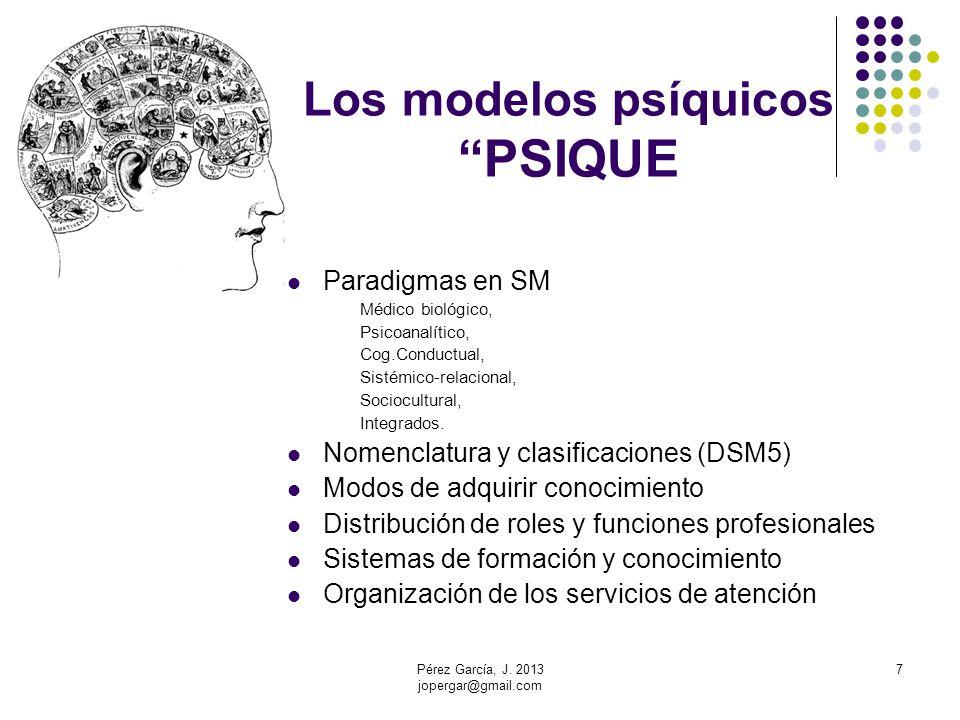 Los modelos psíquicos PSIQUE
