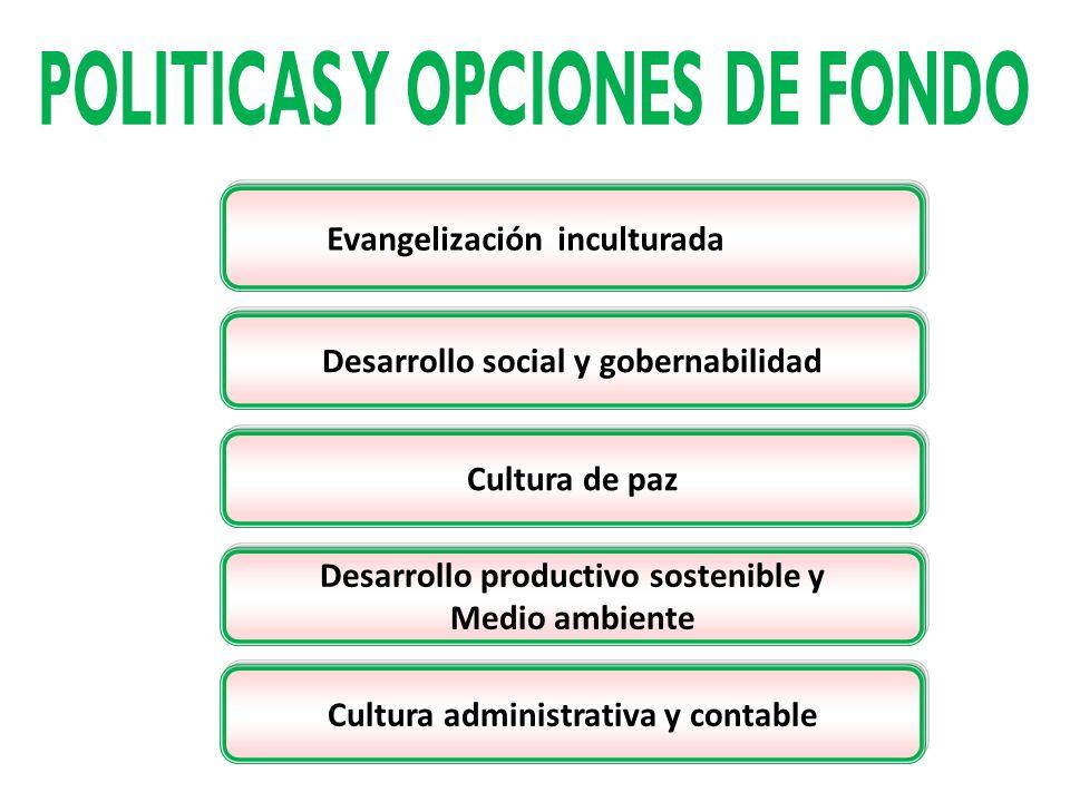 POLITICAS Y OPCIONES DE FONDO