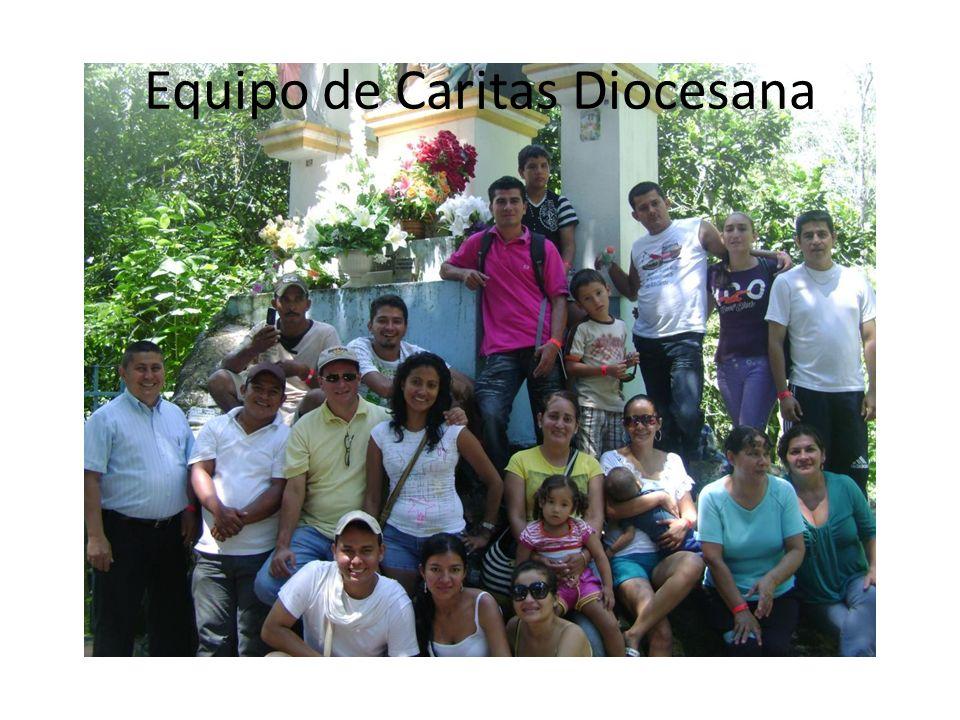 Equipo de Caritas Diocesana