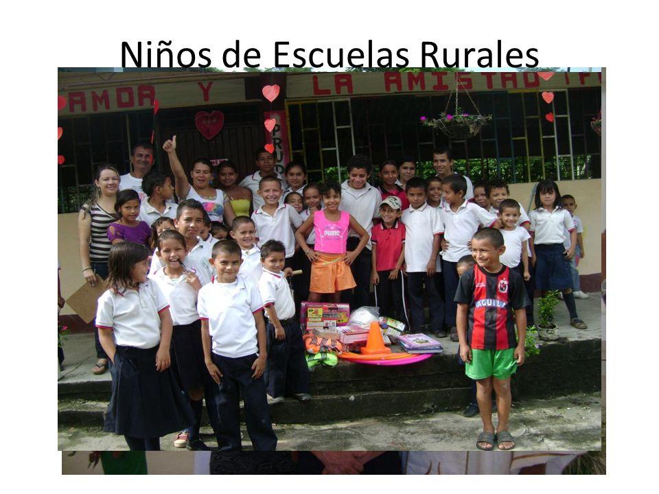 Niños de Escuelas Rurales