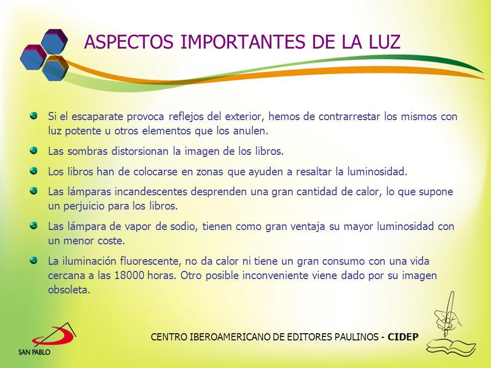 ASPECTOS IMPORTANTES DE LA LUZ