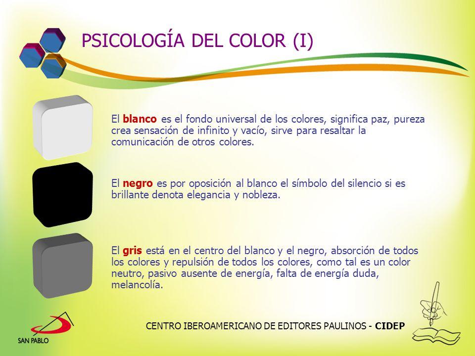 PSICOLOGÍA DEL COLOR (I)