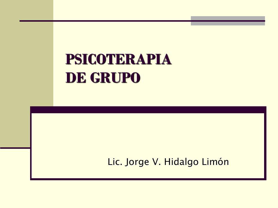 Lic. Jorge V. Hidalgo Limón