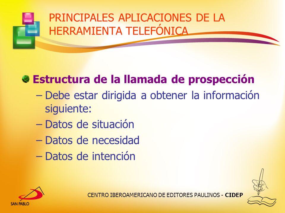 PRINCIPALES APLICACIONES DE LA HERRAMIENTA TELEFÓNICA