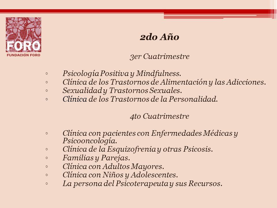2do Año 3er Cuatrimestre Psicología Positiva y Mindfulness.