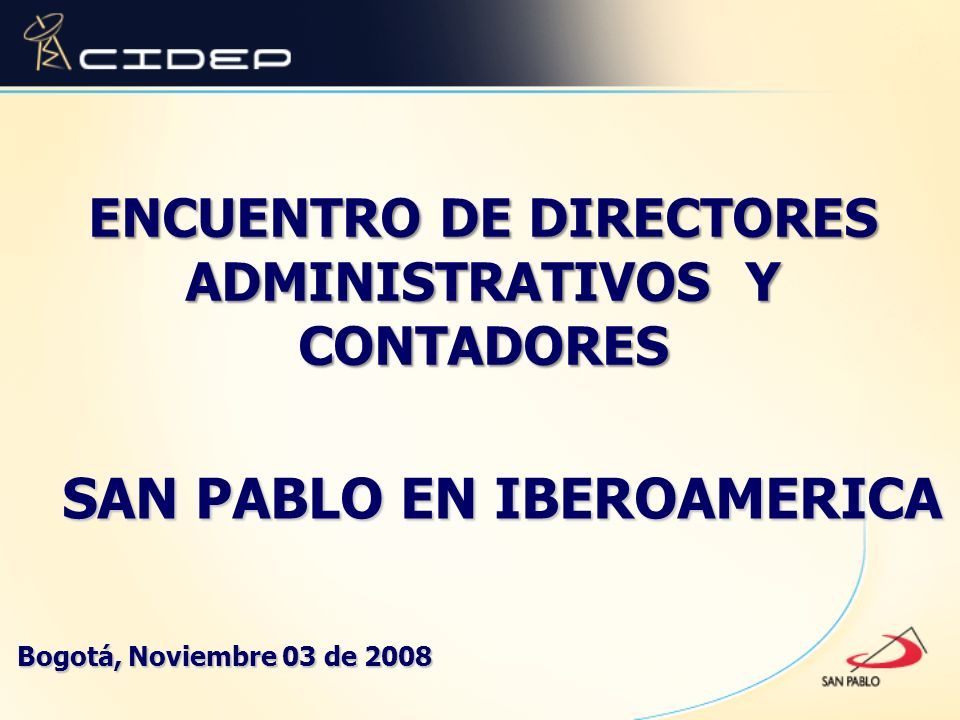 ENCUENTRO DE DIRECTORES ADMINISTRATIVOS Y CONTADORES