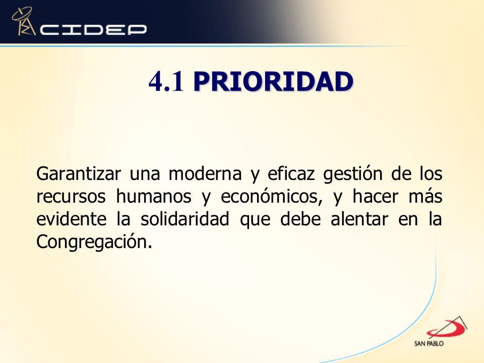 4.1 PRIORIDAD