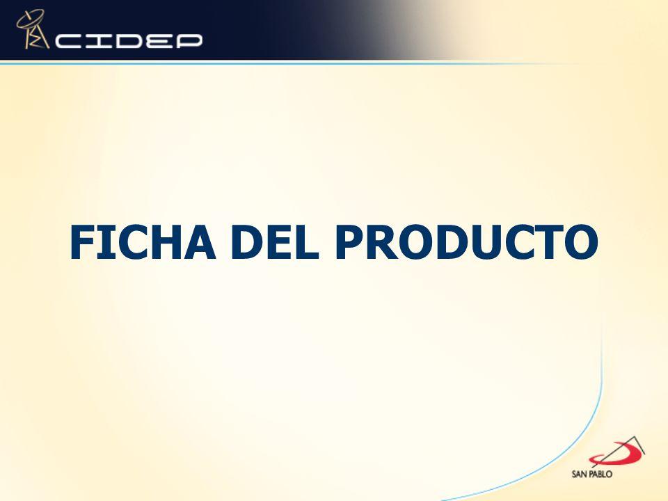 FICHA DEL PRODUCTO