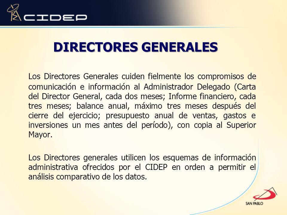 DIRECTORES GENERALES