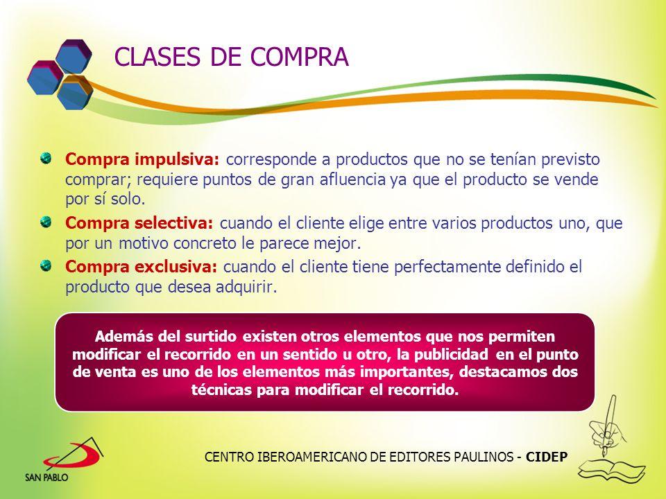 CLASES DE COMPRA