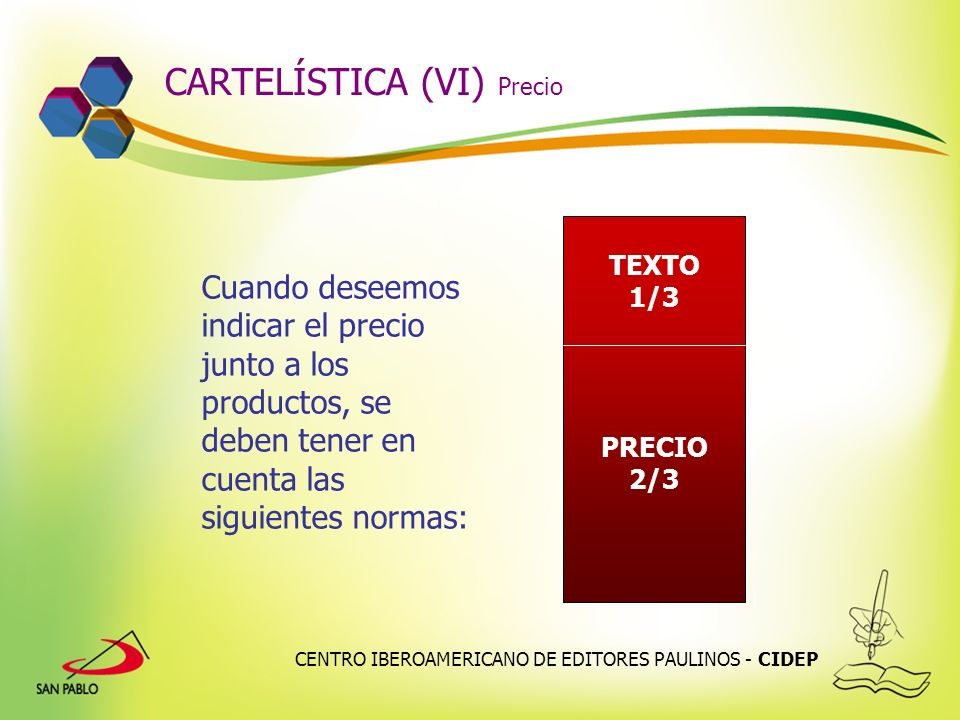 CARTELÍSTICA (VI) Precio