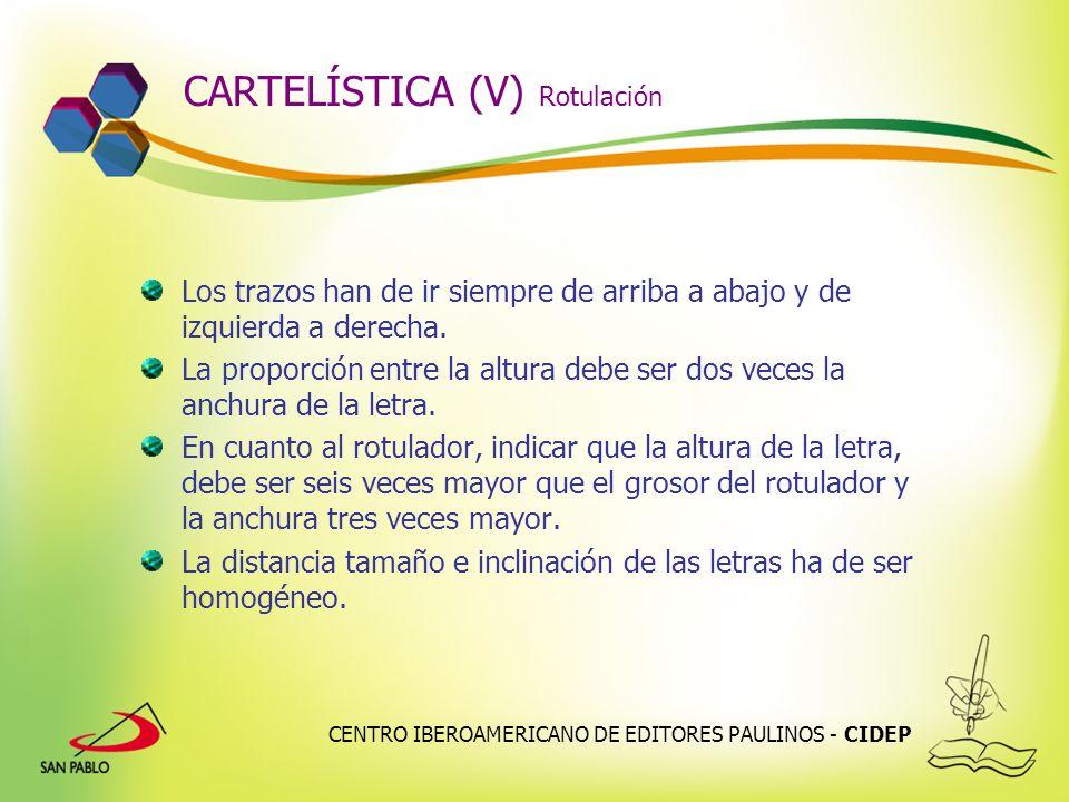 CARTELÍSTICA (V) Rotulación