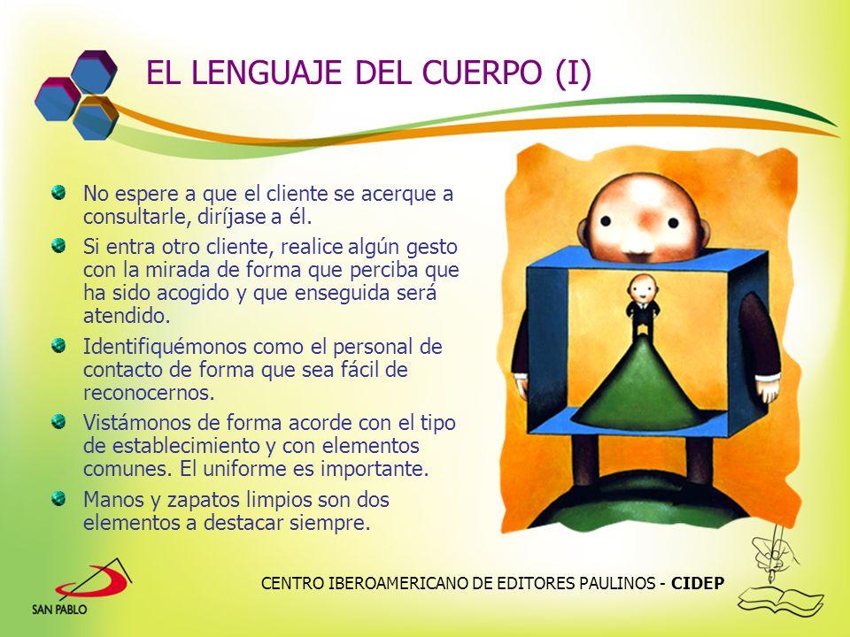 EL LENGUAJE DEL CUERPO (I)