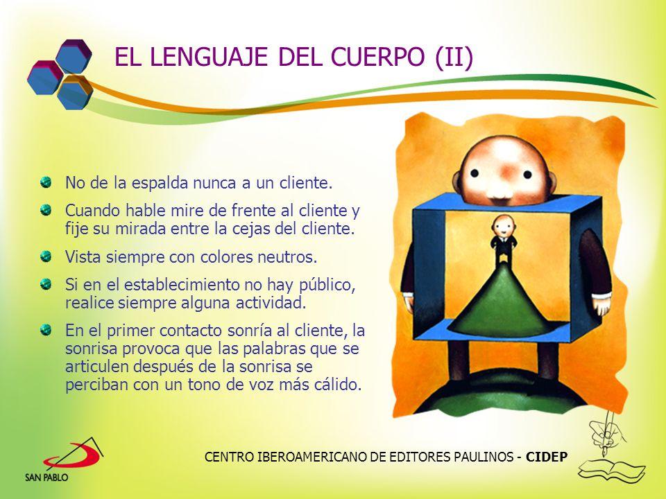 EL LENGUAJE DEL CUERPO (II)