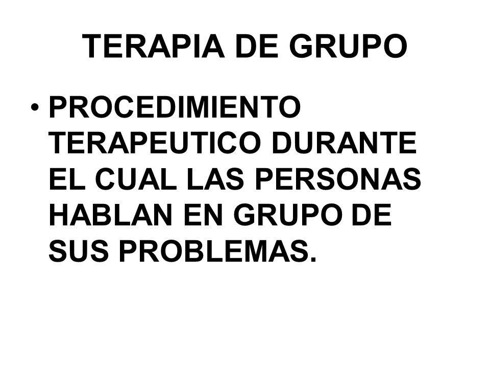 09/04/2017 TERAPIA DE GRUPO.