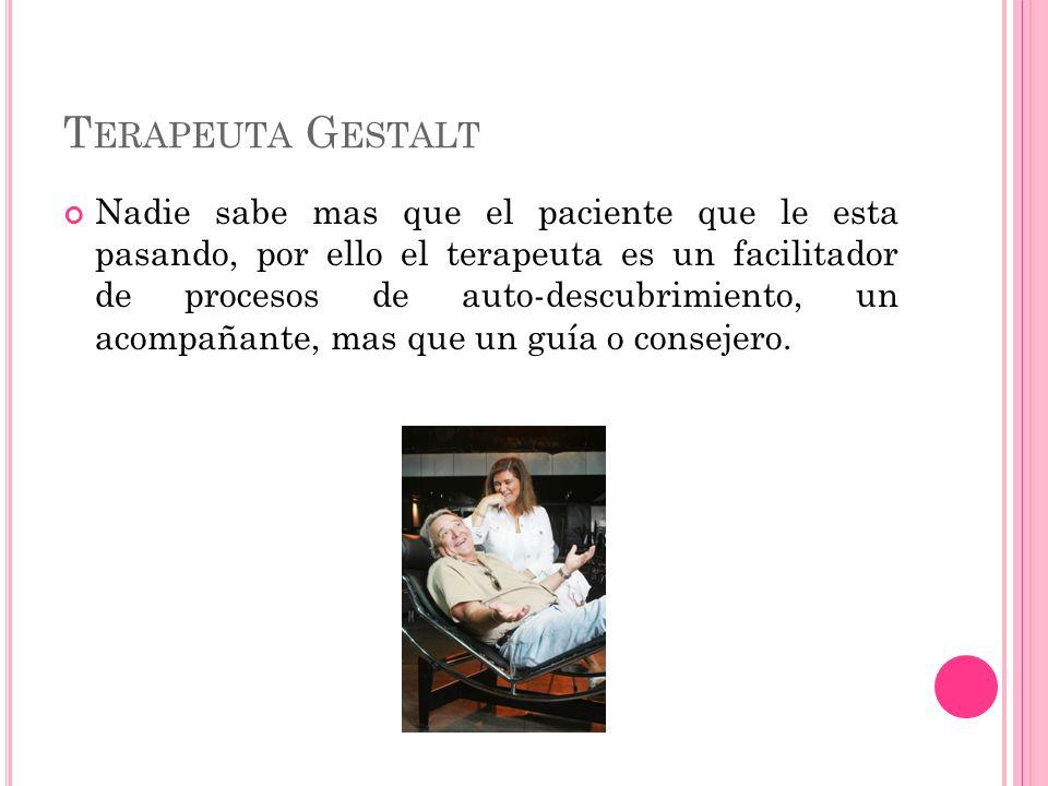 Terapeuta Gestalt