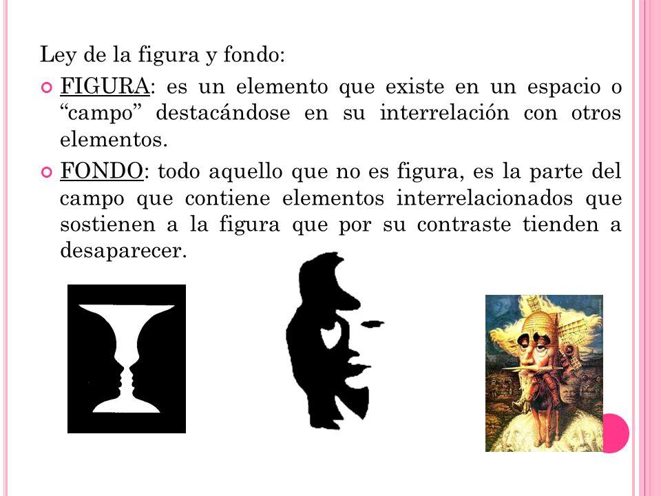 Ley de la figura y fondo: