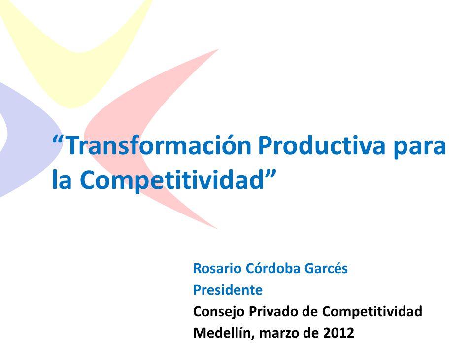 Transformación Productiva para la Competitividad