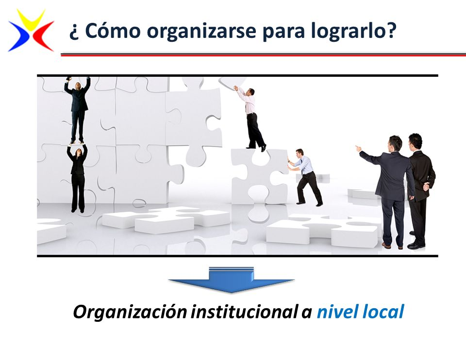 Organización institucional a nivel local