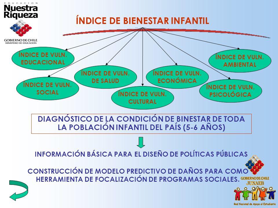 INFORMACIÓN BÁSICA PARA EL DISEÑO DE POLÍTICAS PÚBLICAS