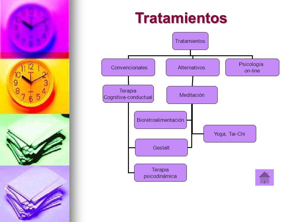 Tratamientos Tratamientos Convencionales Alternativos Psicología