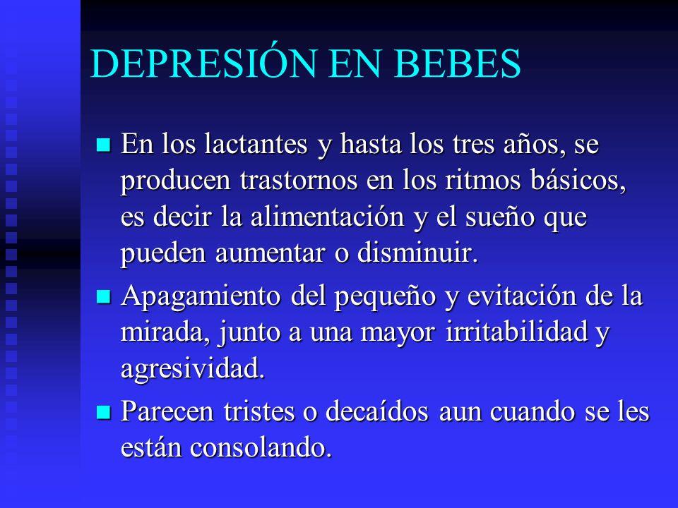 DEPRESIÓN EN BEBES