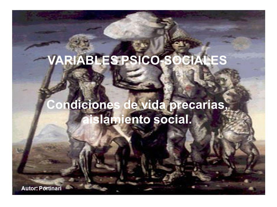 VARIABLES PSICO-SOCIALES