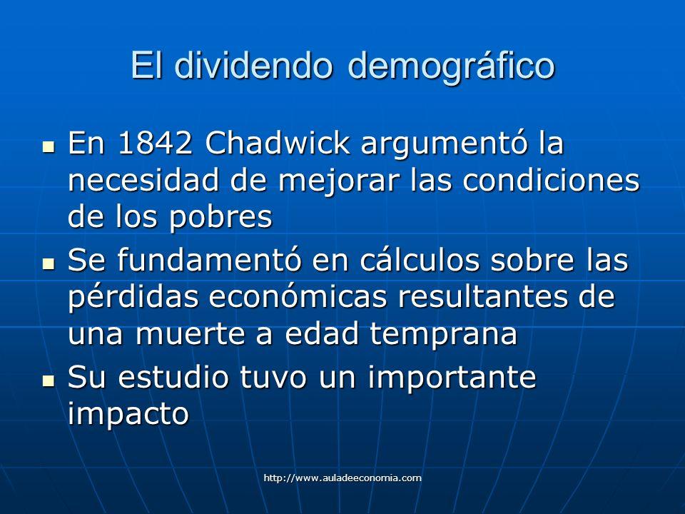 El dividendo demográfico