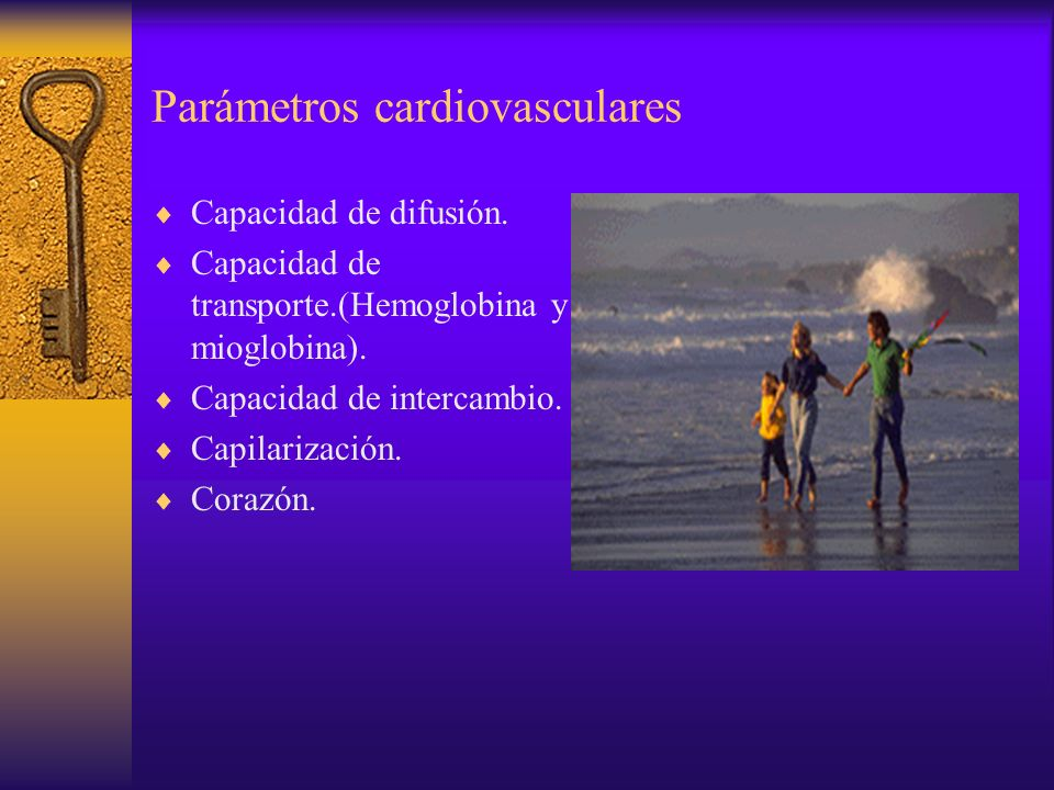 Parámetros cardiovasculares