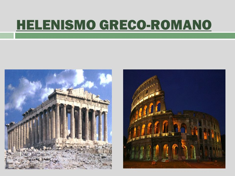 HELENISMO GRECO-ROMANO