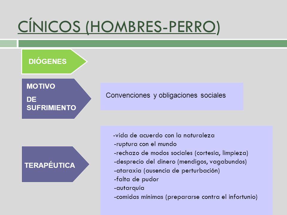 CÍNICOS (HOMBRES-PERRO)