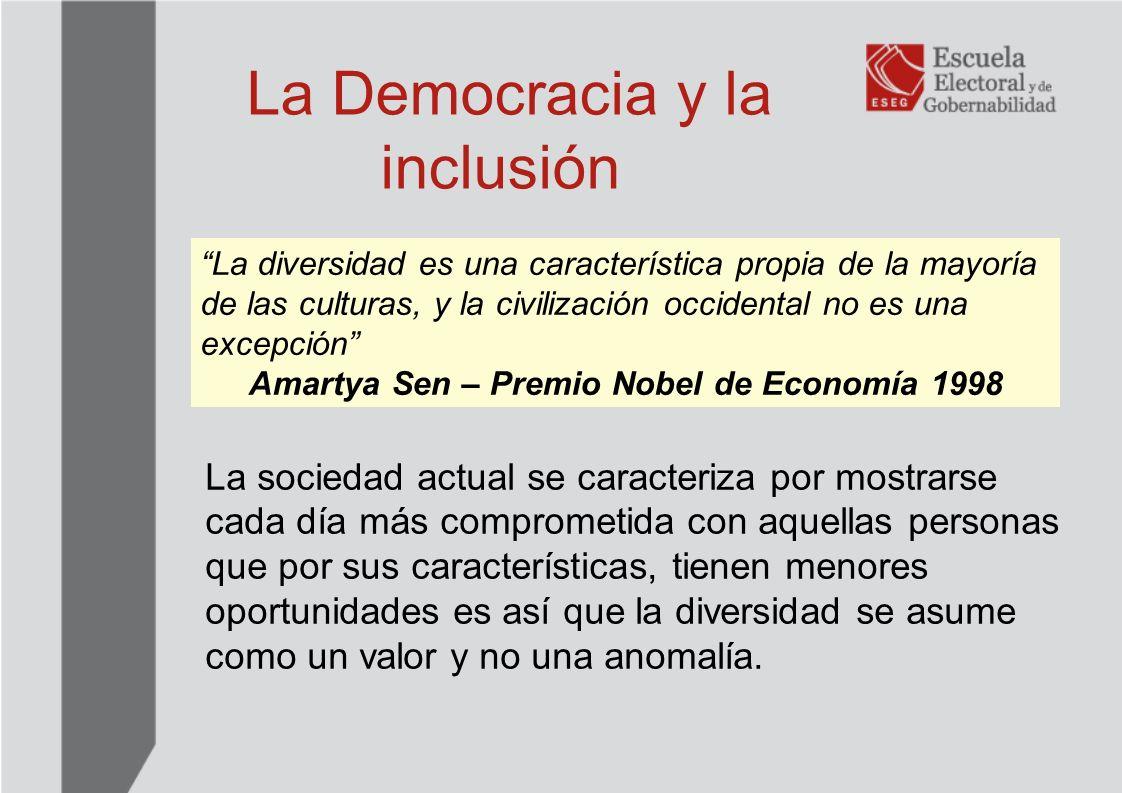 La Democracia y la inclusión